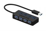Avis et test du Sabrent 4-Port USB 3.0 Hub, une fonction bien pratique!